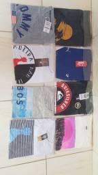 Pra acabar com o estoque todas as peças por 600 reais total 41 camisa e uma bermuda
