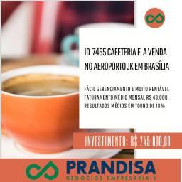 7455 Cafeteria a venda no aeroporto JK em Brasíla