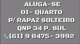 ALUGA-SE 1 QUARTO P/ RAPAZ