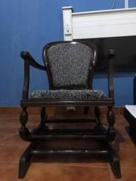 Cadeira de balanço country