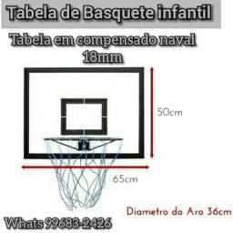 Tabela de basquete infantil