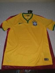 Camisa brasil copa 2014 lacrada ori