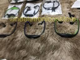Fone de ouvido esportivo bluetooth s9, suporte cartão sd tf/sem fio mãos, auriculares