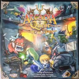 Arcádia Quest Boardgame  RPG Dungeon Galápagos jogo de tabuleiro