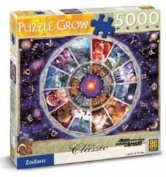 Quebra -Cabeça Puzzle Grow Zodíaco, de 5000 peças