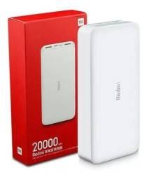 Carregador Portátil Mi Power Bank Xiaomi Redmi Original 20000 Mah