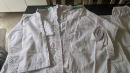 Kimono Shogum Branco Tamanho A4 acima de 100KG