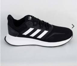 Título do anúncio: Tênis Adidas Falcon preto/branco
