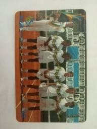 Cartão Telefônico Copa Davis Abril / 2001