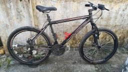 "Bike alfameq 26"" freios a disco"
