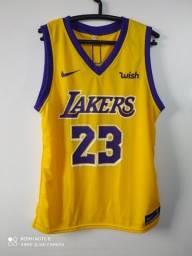 Regata NBA Lakers Amarela