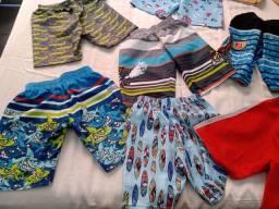 12 Bermudas infantis