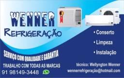 instalação, manutenção e consertos em ar condicionado e centrais de ar split