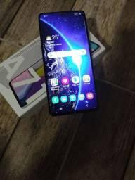 Celular A71 com um mês de uso 128g