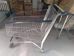 Carrinhos supermercado usados com porta bebê