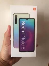 Smartphone Xiaomi Redmi Note 8, Dual Chip, Branco 128GB (Lacrado)!