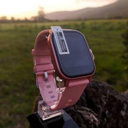 Smartwatch P8 ROSA com película