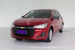 Chevrolet Onix Plus 1.0 Turbo Flex 4p Automático 6M Vermelho