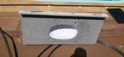 Pia banheiro mármore.  Tamanho 1.10x55