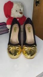 Sapato meia pata - número 37