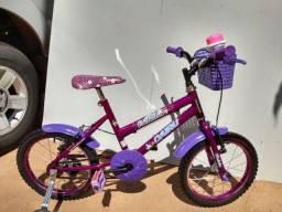 Bicicleta infantil aro 16 ( CAIRU  Fadinha )