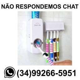 Dispenser Porta Colgate + Suporte de Escova de Dente