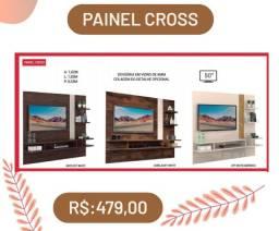 Painel para TV 50 com opções de cor