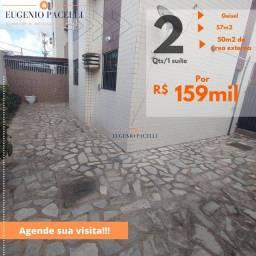 Apartamento com 2 quartos à venda, 57 m² por R$ 159.000 - Geisel - João Pessoa/PB