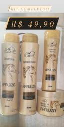 Kit shampoo Apaluza 4produto