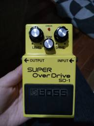 Pedal Super Over Drive SD-1 BOSS Original