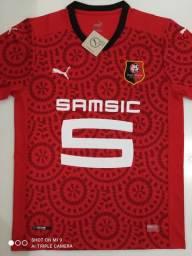 Camisa Rennes Home Puma 20/21 - Tamanho: G