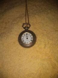 Relógio de bolso champion 17 rubis