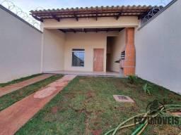 Casa 3Q, 1S e área gourmet coberta - Recreio Panorama em Goiânia