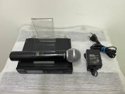 Microfone Sem Fio Shure Slx 4 Original Funcionando 100%
