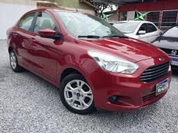 Ka SEL 1.5 - Sedan - Flex - Vermelha