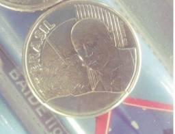 50 centavos 2002 cunho quebrado