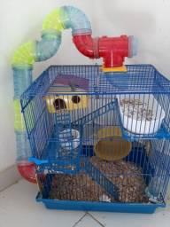 Vendese gaiola + hamster