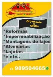 Reformas e Construções