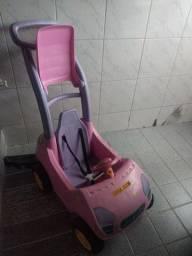 Carrinho rosa feminino