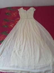 Vestido de festa,para noiva,batizado,formatura etc