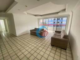 Apartamento com 4 dormitórios para alugar, 150 m² por R$ 1.900,00/mês - Boa Viagem - Recif