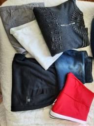 Vendo lote de roupas masculina