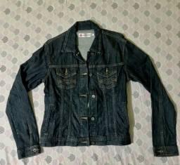 Jaqueta jeans escuro NOVA