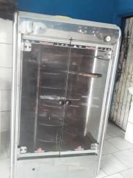 Maquina de assa frango da multiuso progás