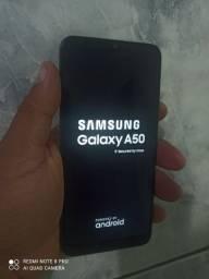 Samsung a50 64 gigas 4 de ram biometria off carregador fone capa entrego dependendo