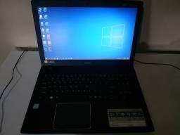 Notebook bem novo - Acer i3 de oitava geração PARCELO ATÉ 12X SEM JUROS NOS CARTÕES