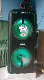 Caixa de som FRAHM 3650 WATTS de potência  1.800