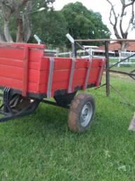 Carreta agricola 2 rodas