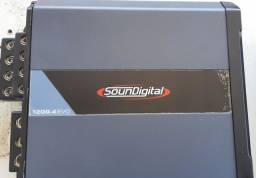 Módulo soundigital sd1200.4 4omhs novo!