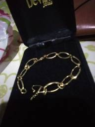 Elo oval em ouro 18k vendo a joia ñ Granas